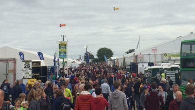 Crowds at the National Ploughing Championships, Screggan, Tullamore. Photo: Ken McGuire/KCLR