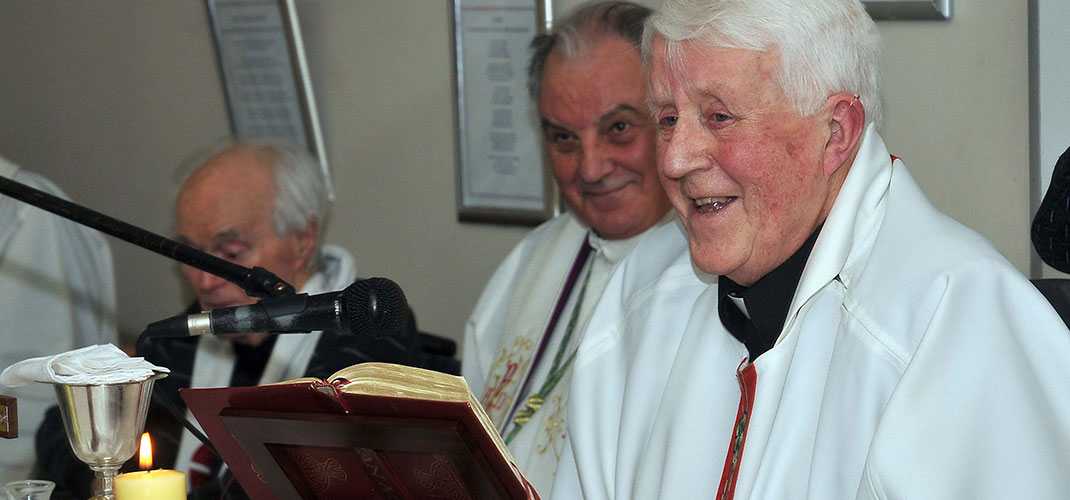 Former Bishop Of Ossory Laurence Forristal Has Died