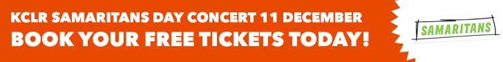 KCLR Samaritans Day Tickets