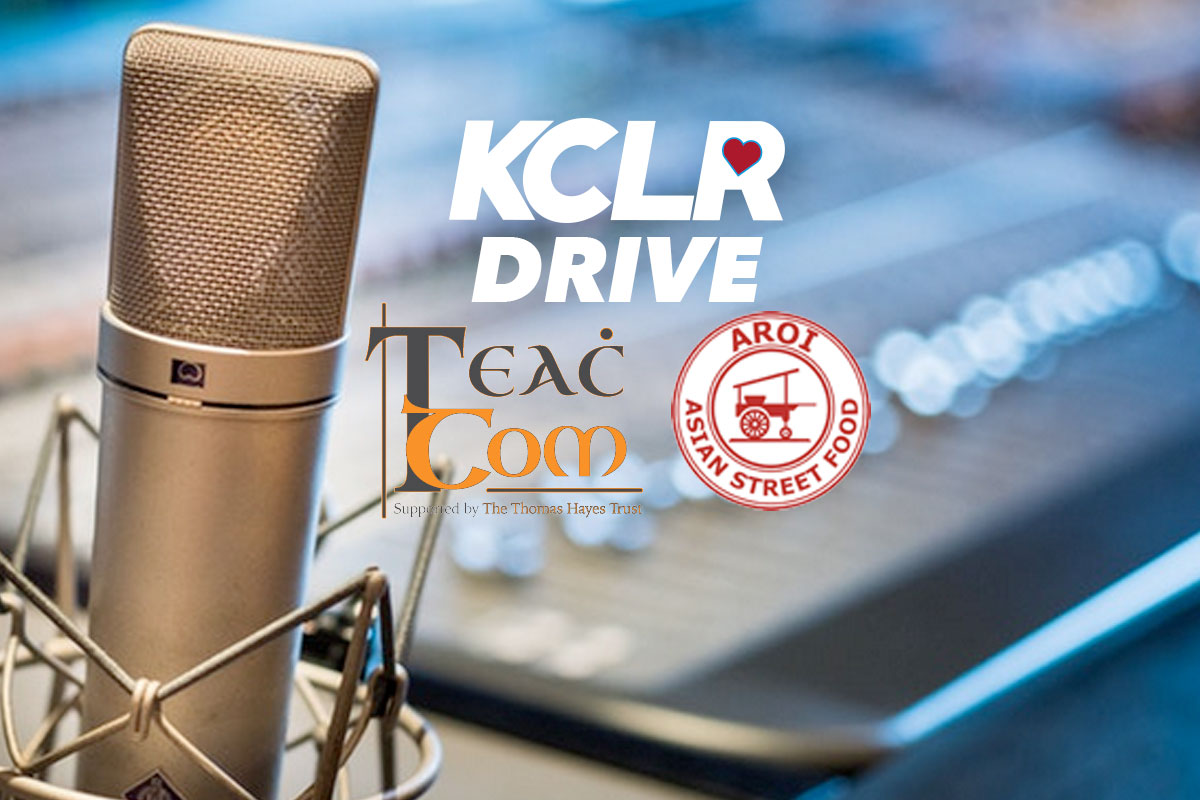 Teac Tom and Aroi on KCLR Drive