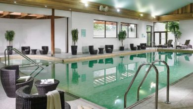 The pool at Newpark Hotel, Kilkenny