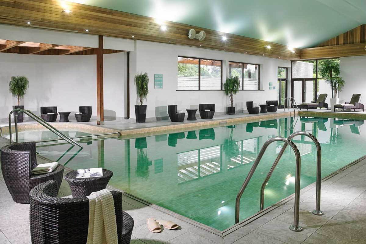 The pool at Newpark Hotel, Kilkenny