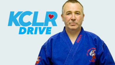 Dragons Lair instructor Larry McEnroe on KCLR Drive
