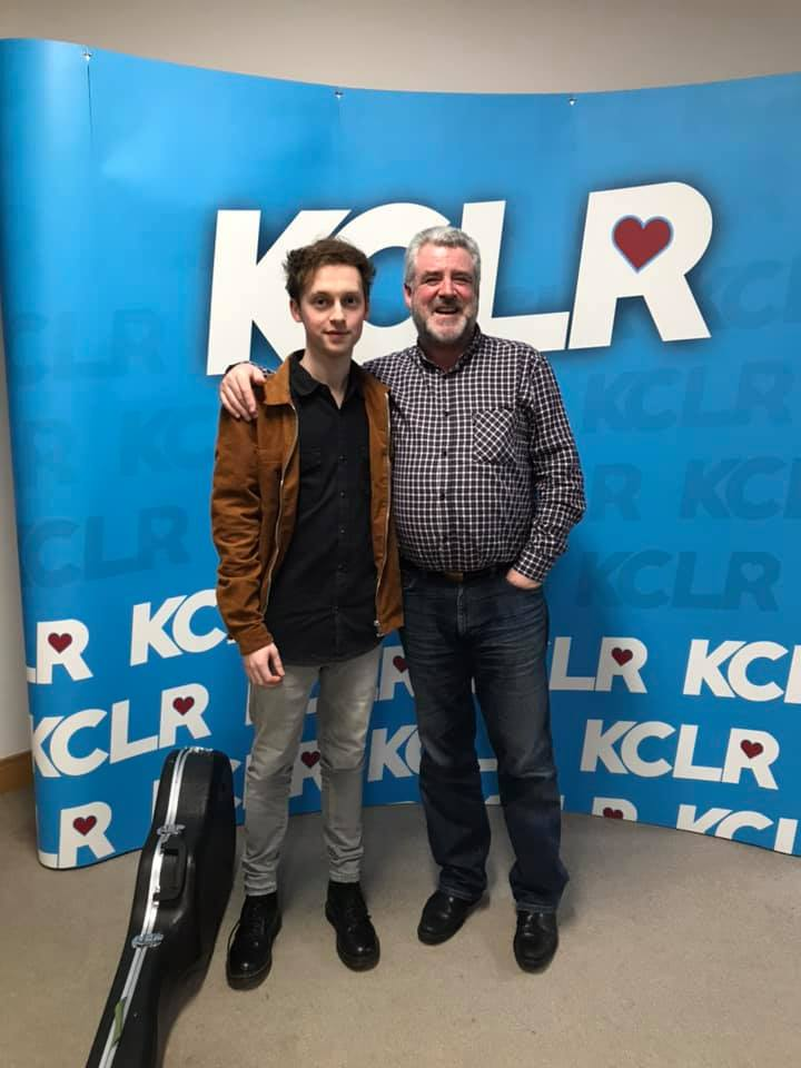 Jack Keeshan and Martin Bridgeman in a Studio 2 Session for Ceol Anocht on KCLR