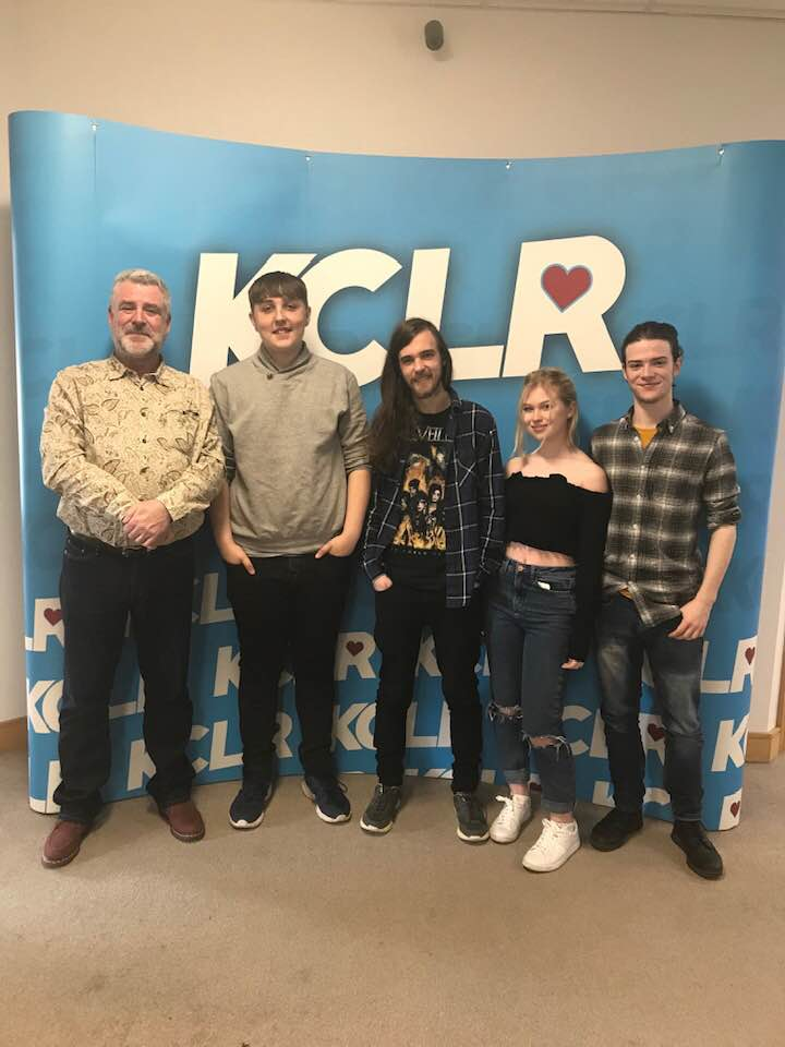 "Martin Bridgeman in conversation with Carlow band The Avon Representatives whose new single ""Days Like These"" is out now for Ceol Anocht on KCLR"