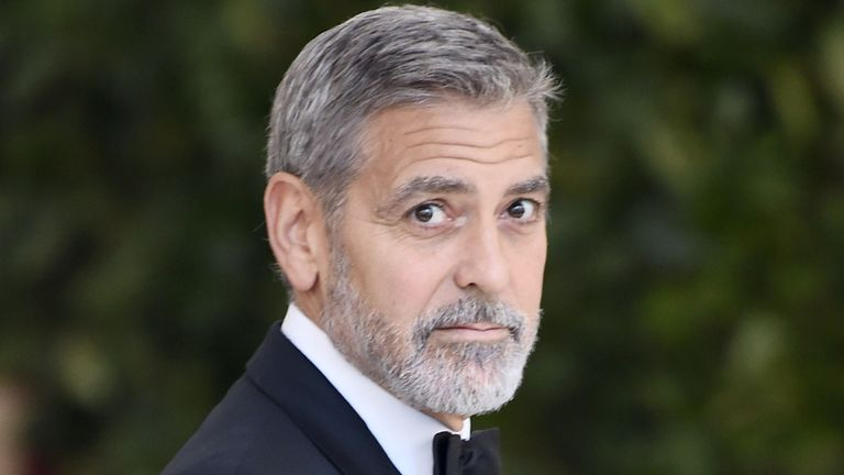 George Clooney spent Easter in Abbeyleix meeting his Irish