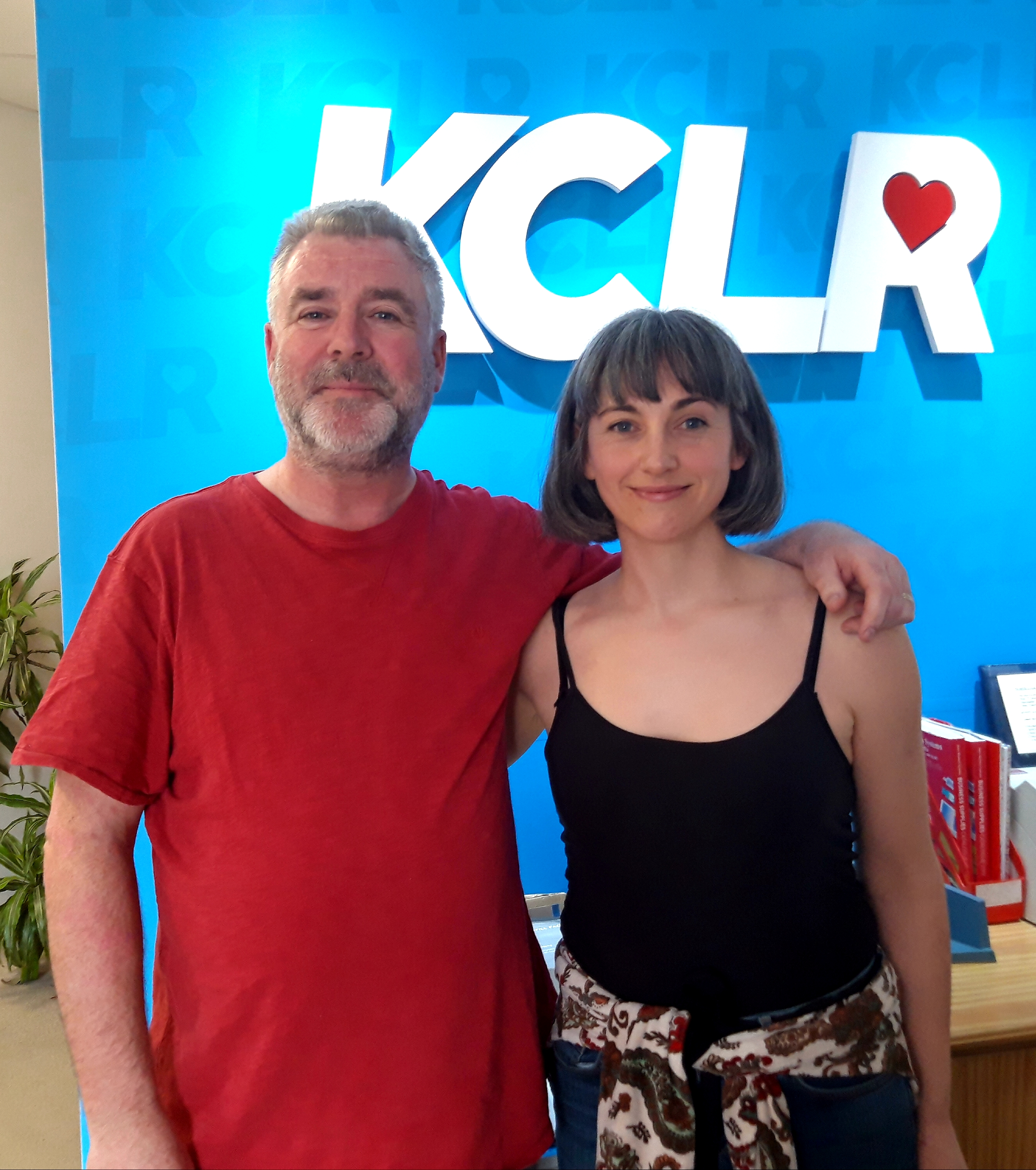 Martin Bridgeman in conversation with Irish songwriter and performer Inni K for a Studio 2 Session for Ceol Anocht on KCLR