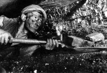 Castlecomer Mines: Miners Underground