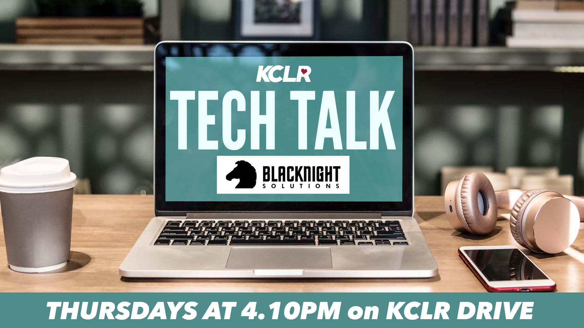 Tech Talk on KCLR Drive with Blacknight