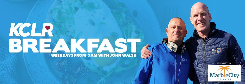 KCLR Breakfast with John Walsh