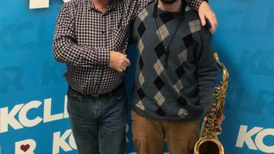 """Martin Bridgeman in conversation with musician Adam Nolan, discussing the approach he took in preparing for and recording his latest album project of improvisation (AKA """"Heron Co-Creators"""") , in a Studio 2 Session for Ceol Anocht on KCLR"""