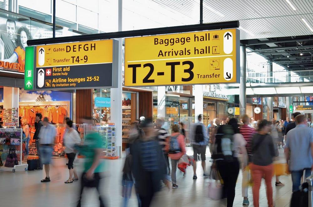 Airport terminal. Photo: Skitterphoto/Pexels