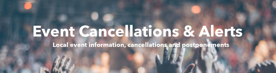 Events & Cancellations
