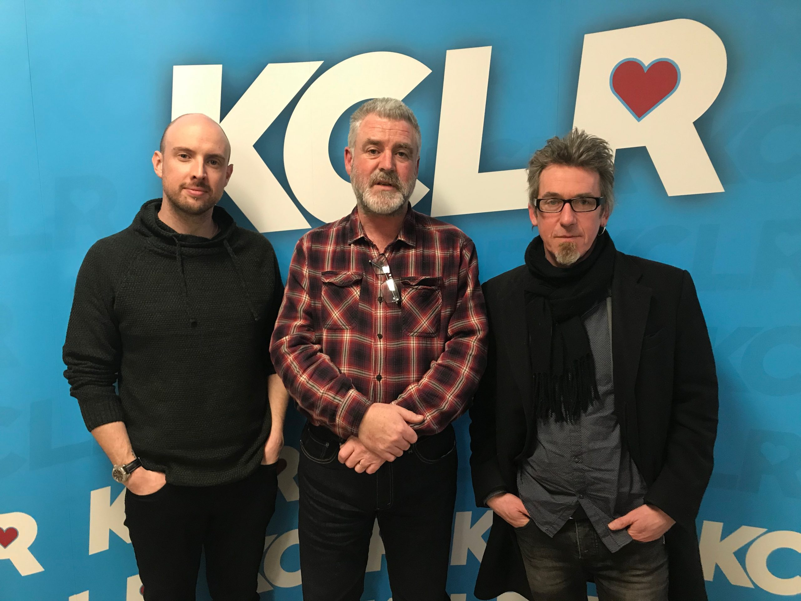 Peter Murphy and Dan Comerford of Wexford collective Cursed Murphy in a Studio 2 Session for Ceol Anocht on KCLR