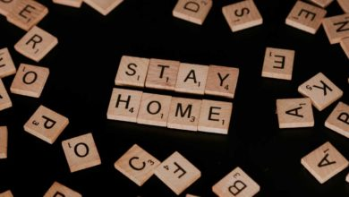 Stay Home. Photo: Priscilla Du Preez/Unsplash