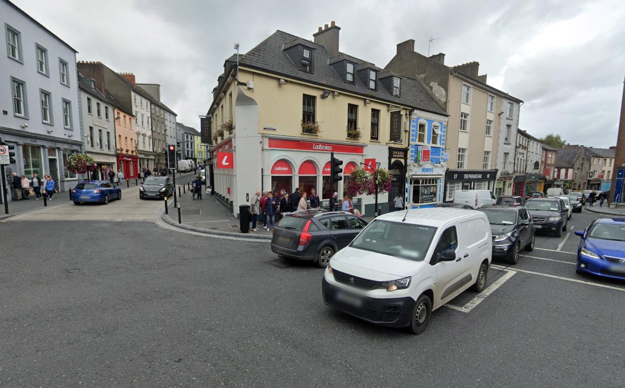 Junction of High Street and Rose Inn Street, Kilkenny (Google Maps)