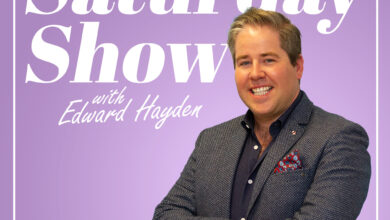 Photo of The Saturday Show with Edward Hayden on Saturday 21st November 20