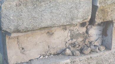 Photo of Tullow Bridge has been struck again