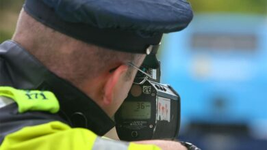Photo of Motorist clocked driving more than double the speed limit in Carlow
