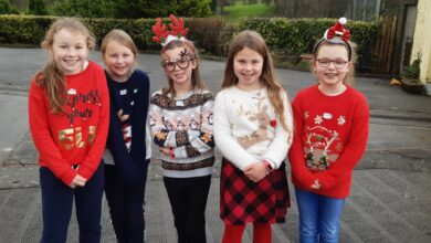 Photo of Presentation NS are bright stars this Christmas