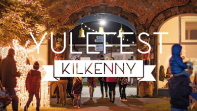 Photo of Santa on the wireless, giveaways and all things Christmas with Yulefest Kilkenny